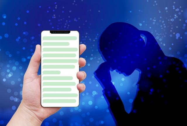睡眠前のスマートフォンは睡眠を妨げる