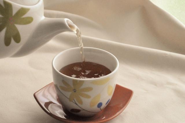 温かい麦茶