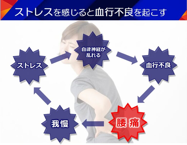 腰痛はストレスが大きく関係している
